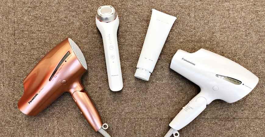 日本最新美容家電推薦!Panasonic美容儀「EH-SR70」吹風機神器「EH-NA99」開箱報告