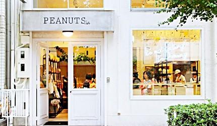 史努比主題咖啡館「PEANUTS Cafe 」