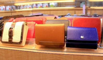 東京銀座買包推薦人氣行李箱、包包專賣店「Ginza Karen」錢包