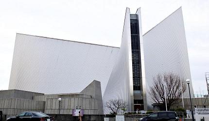 東京聖瑪麗大教堂丹下健三