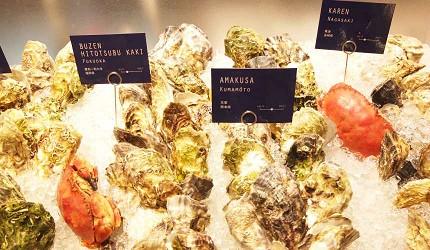Boston Oyster & Crab的牡蠣來自世界各地