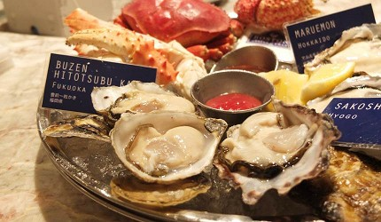 Boston Oyster & Crab的海鮮拼盤
