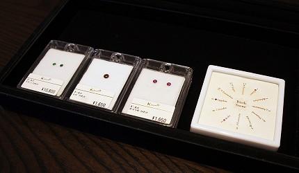 日本最大的訂製珠寶飾品專賣店「K.UNO」代表生日月份的誕生石