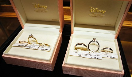 日本最大的訂製珠寶飾品店「K.UNO」美女與野獸系列飾品