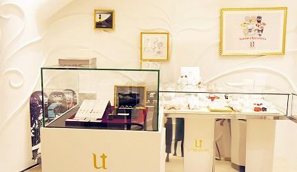 日本最大的訂製珠寶飾品專賣店「K.UNO」U-TREASURE 新宿店