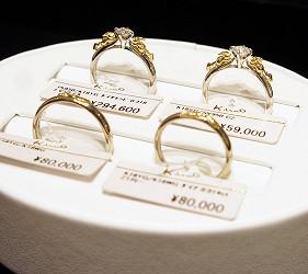 日本最大的訂製珠寶飾品店「K.UNO」皮卡丘訂結婚戒指
