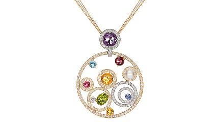 日本最大的訂製珠寶飾品專賣店「K.UNO」訂製的成品(項鍊)