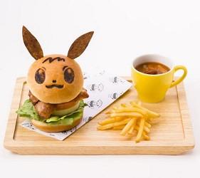 寶可夢咖啡廳菜單