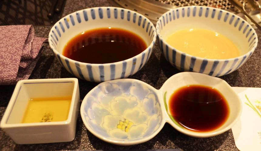 日本和牛吃到飽東京人氣燒肉名店「六歌仙」醬汁