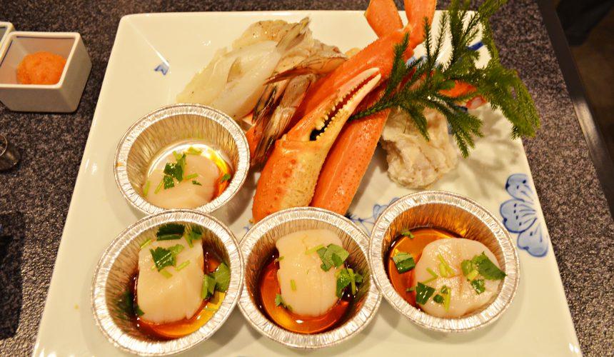 日本和牛吃到飽東京人氣燒肉名店「六歌仙」海鮮