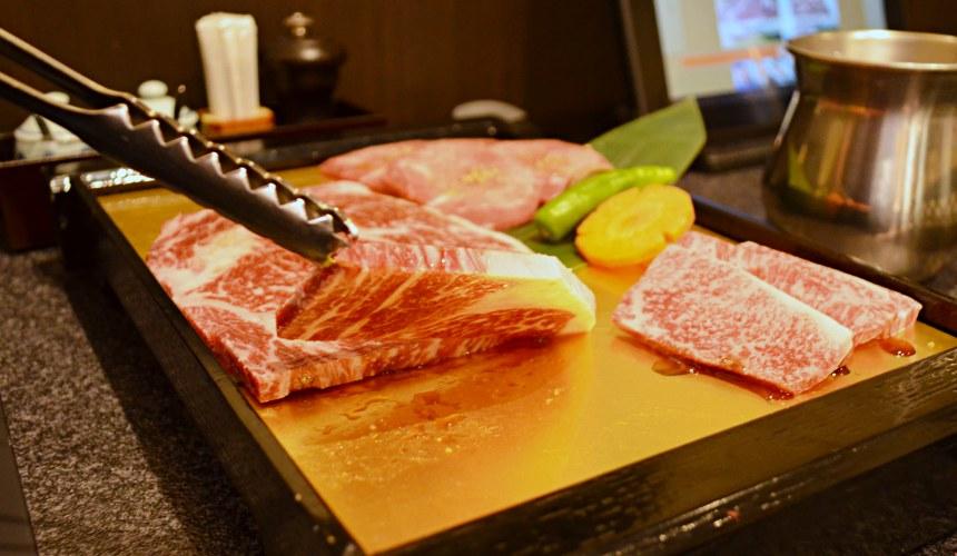 日本和牛吃到飽東京人氣燒肉名店「六歌仙」肉品