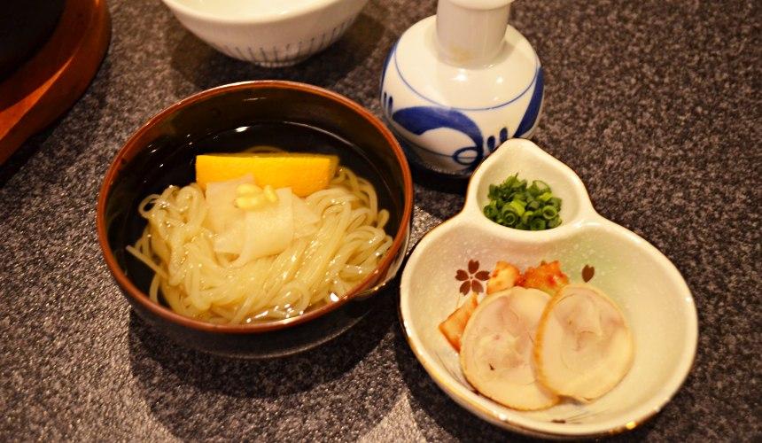 日本和牛吃到飽東京人氣燒肉名店「六歌仙」冷麵