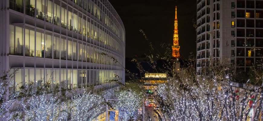六本木東京鐵塔夜景