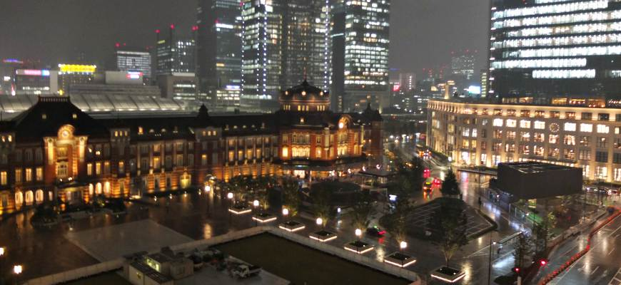 東京車站夜景