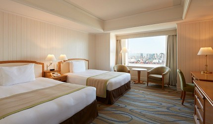 東京台場日航大酒店標準客房雙床間
