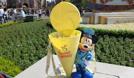 東京迪士尼樂園35週年紀念的米奇爆米花桶