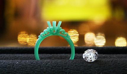 日本最大的訂製珠寶飾品專賣店「K.UNO」綠蠟模型