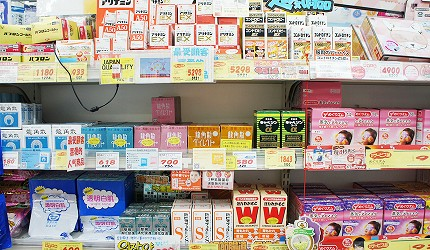 くすりの福太郎 澀谷中心街店2018年人氣必買藥妝商品