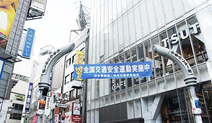 くすりの福太郎 澀谷中心街店交通位置