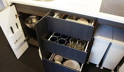 公寓式飯店「MIMARU」廚具一應俱全