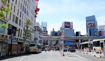 澀谷西口巴士站