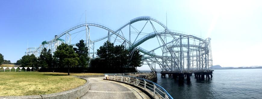 日本橫濱八景島海島樂園波浪雲霄飛車