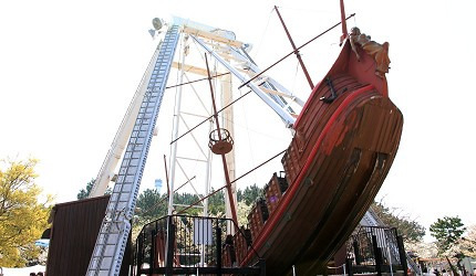 日本橫濱八景島海島樂園海盜船