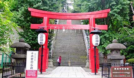 虎之門愛宕神社出世的石階梯