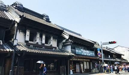 東京埼玉川越景點一番街商店街(藏造老街)