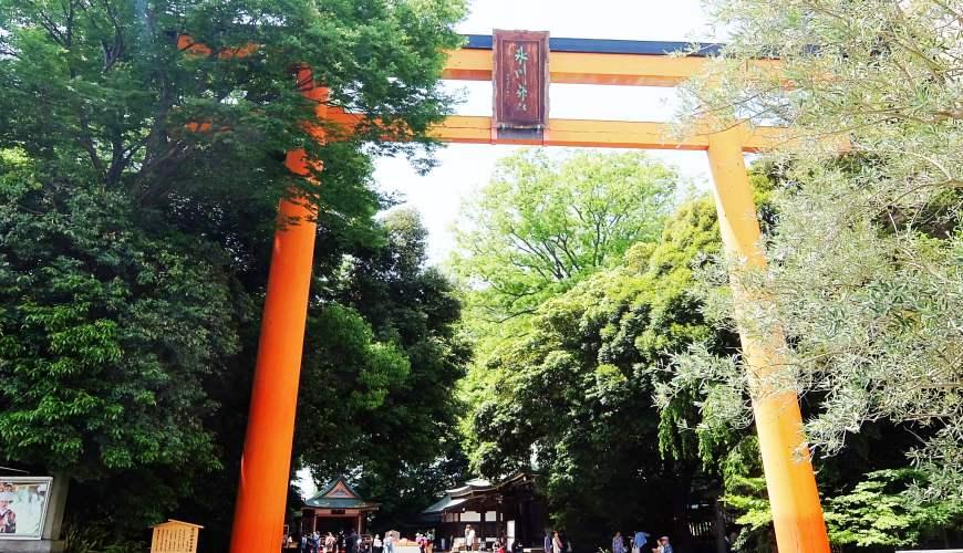 東京埼玉川越景點川越冰川神社
