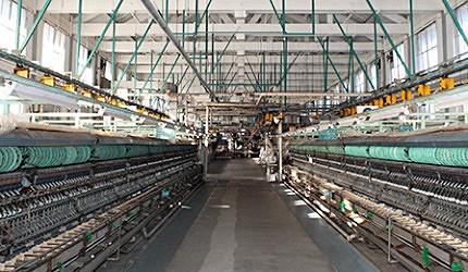 「富岡製絲廠」的現代化設備對於絲綢產業有很大貢獻