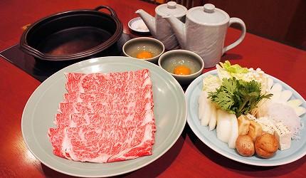 涮涮鍋、壽喜燒吃到飽名店推薦「しゃぶ禪」的黑毛和牛肋眼壽喜燒吃到飽
