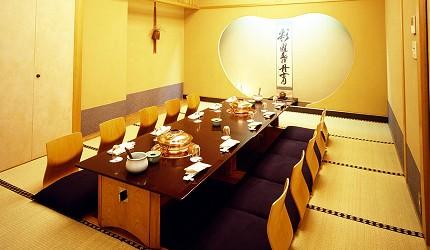 涮涮鍋、壽喜燒吃到飽名店推薦「しゃぶ禪」的澀谷店日式座位
