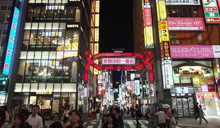 「歌舞伎町」愈晚愈熱鬧