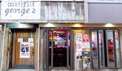 「DOBUITA商店街」上有許多美式酒吧