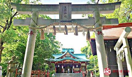 「多摩川淺間神社」的主祭神「木花咲耶姬命」以美貌著稱