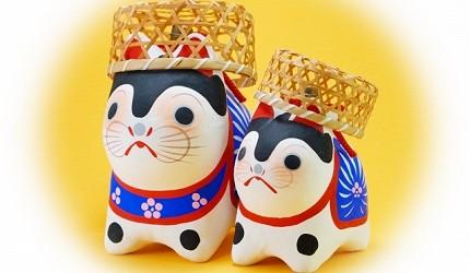 「犬張子」在日本是孩童的守護神