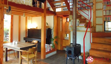 東京府中市分倍河原咖啡廳「森林咖啡」森のカフェ店內