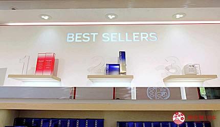 東京藥妝購物推薦erume de beaute Ⅱ銀座店店內銷售排行
