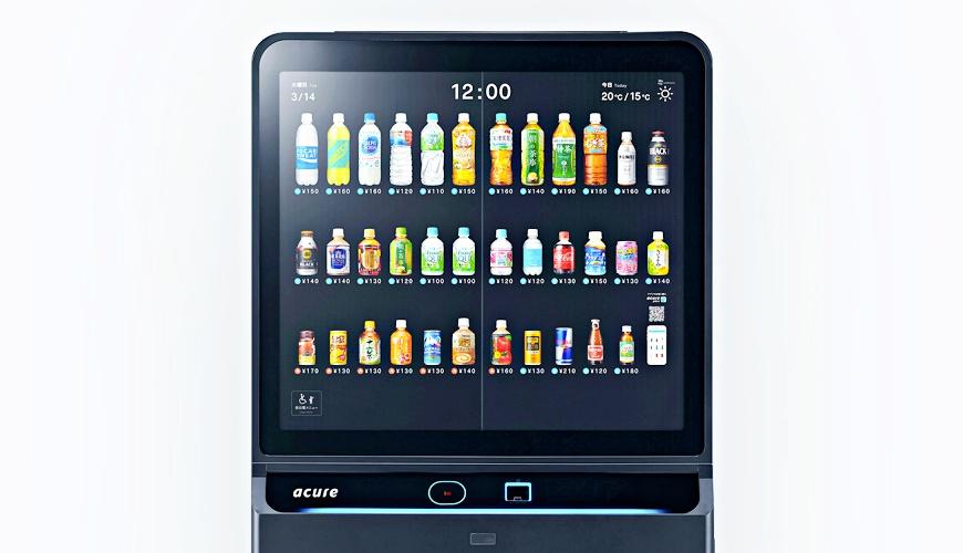 手機嗶一下就能買飲料!最高科技「革新自動販賣機」JR東日本車站新登場