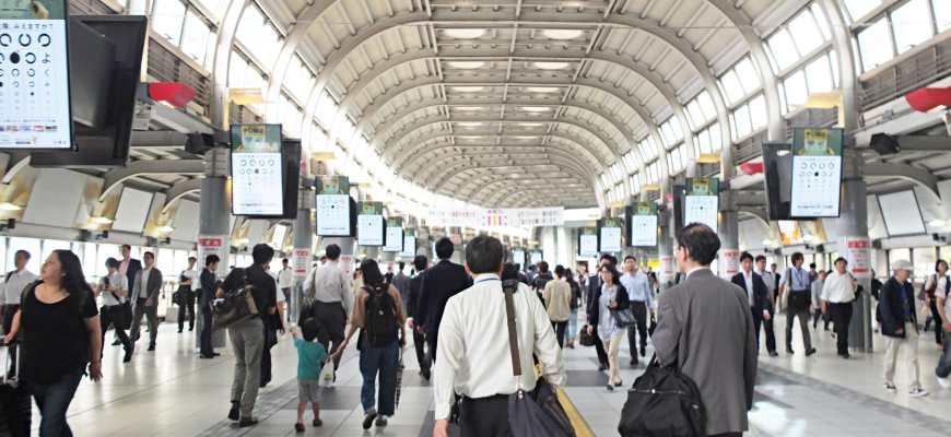 品川站中央自由通路