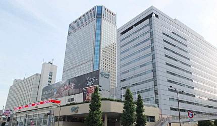 品川王子大飯店和Wing商場