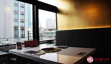 日本自由行美食推薦A5和牛餐廳「肉の匠 將泰庵」店內裝潢