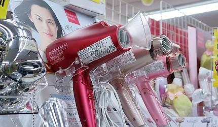 東京購物推薦上野多慶屋本館電器人氣Panasonic的吹風機