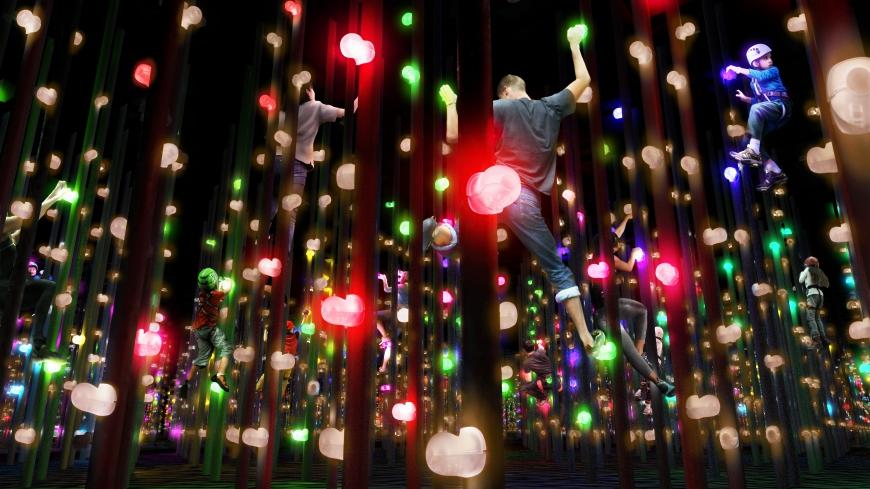 東京新地標!巨型數位藝術美術館 「teamLab borderless」6月21日在台場隆重開幕! 6