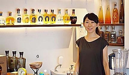 東京代代木果汁吧「Agaveria」老闆