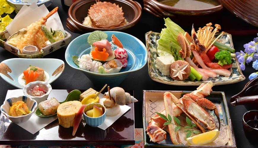 东京神乐坂必吃螃蟹会席料理「美山 神乐坂」的美山套餐(美山コース)