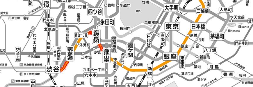 速报!东京Metro地下铁银座缐部分车站区间在11月有4天会停驶唷!
