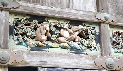 關東東京近郊枥木日光東照宮三猿二社一寺世界遺產