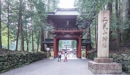 關東東京近郊枥木日光二荒山神社二社一寺世界遺產